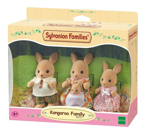 sylvanian families muñecos familia canguro 5272 epoch edu