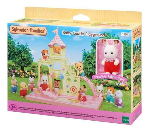 sylvanian families playground do castelo 5319 epoch