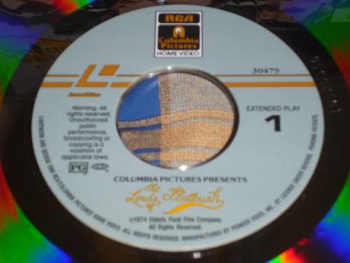 sylvestre stallone y el fonz, 01 laserdisc, raro