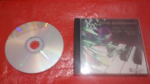 sylvia kersenbaum (chopin y liszt) - cd
