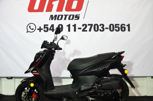 sym crox 125 0km scooter uno motos imperdible