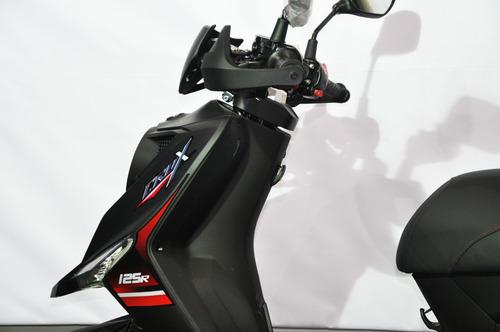 sym crox 125 0km scooter unomotos !