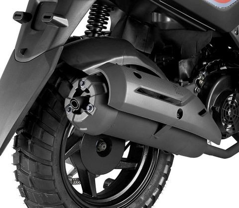 sym crox 125 gris 0km scooter ap motos envios a todo el pais
