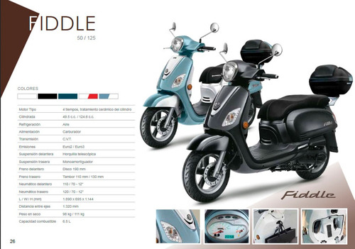 sym fiddle 150, scooter