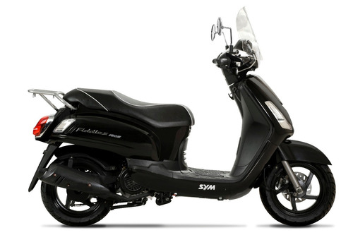 sym fiddle ii 150 scooter azul (kymco like, zanella styler)