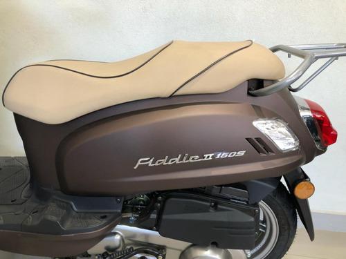 sym fiddle scooter motos