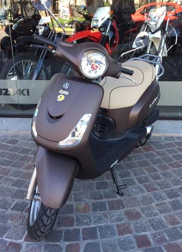 sym scooter fiddle 150 ii 150cc 2018 0km