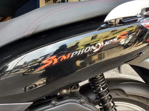 sym symphony 125 0km scooter año 2019 0km