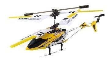 syma helicóptero control remoto s107g, amarillo