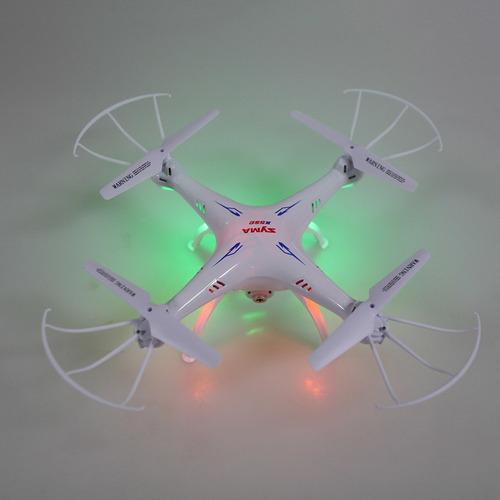 syma x5sc 2.4g 6-axis gyro 2.0mp cámara drone 2 baterías