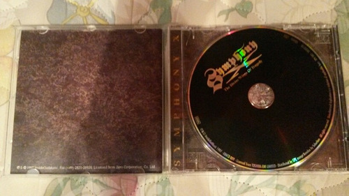 symphony x cd the divine wings of tragedy