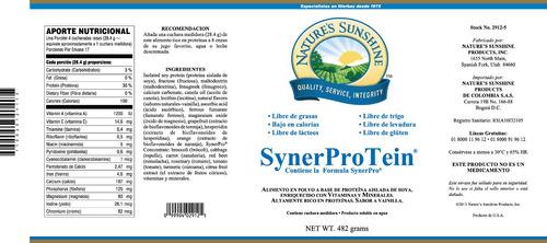 synerprotein tarro (482 grs)