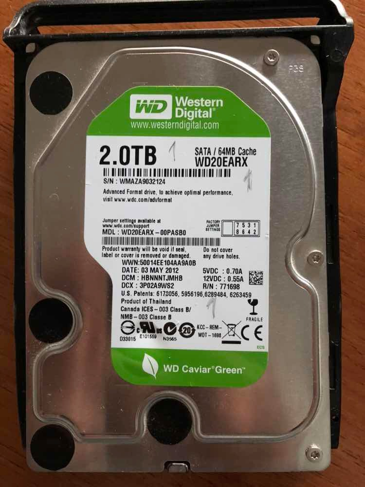 Synology Diskstation Ds 214play + 1 Disco 2tb Western Digita - $ 12 850,00