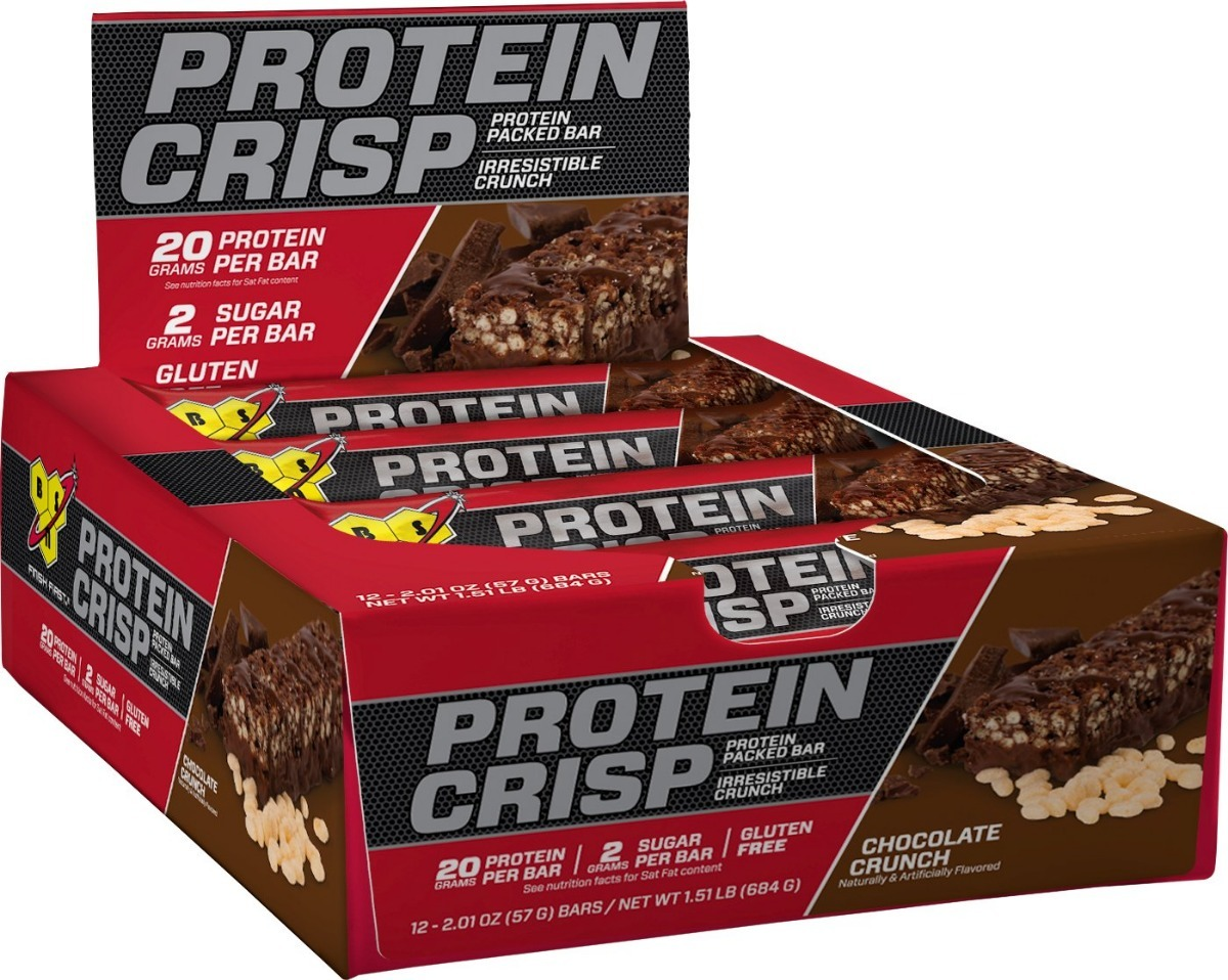 2296729e0 syntha 6 bar protein crisp bar cx 12 uni choco crunch - bsn. Carregando  zoom.