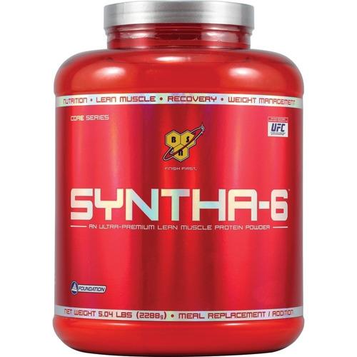 syntha-6 chocolate - bsn 4,12lb/1,9kg - promoção!!!