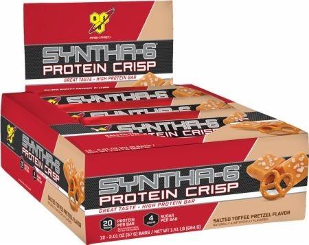 399cb266f Syntha-6 Protein Crisp Bar (cx C 12) - Bsn Todos Sabores - R  157
