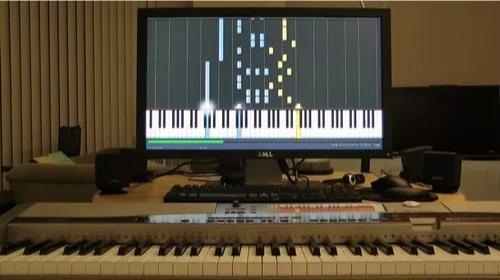 synthesia versão 10.3 atual aprenda a tocar teclado e piano