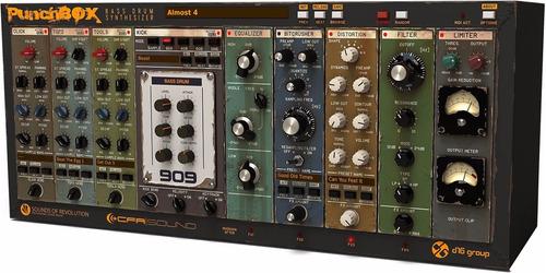 synthesizer  sintetizador de baterias  punchbox