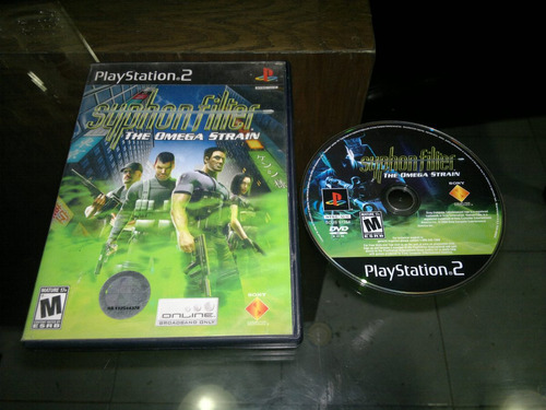 syphonfilter omega strain para play station 2,checalo