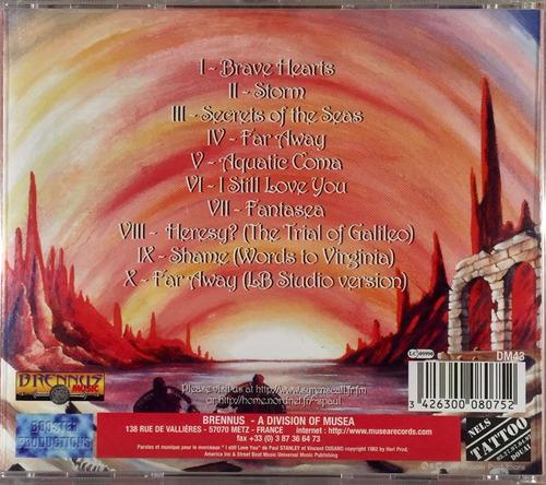 syrens call - fantasea - cd importado brennus france lacrado