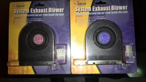 system exhaust blower omega para case cpu de escritorio