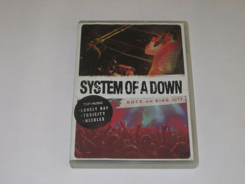 system of a down - rock am ring 2011 - dvd
