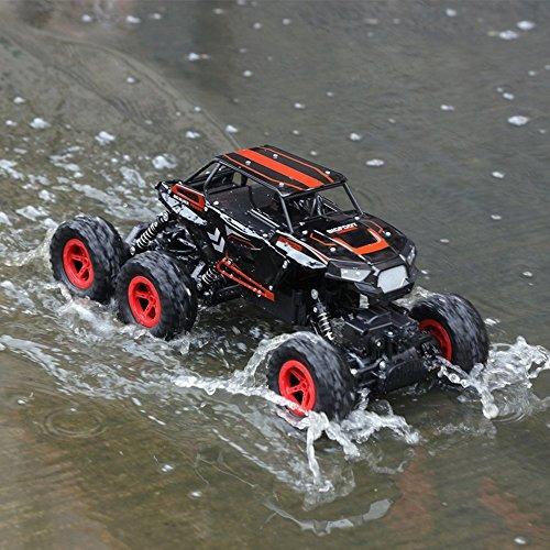 szjjx 6wd rc coches control remoto fuera de carretera escala