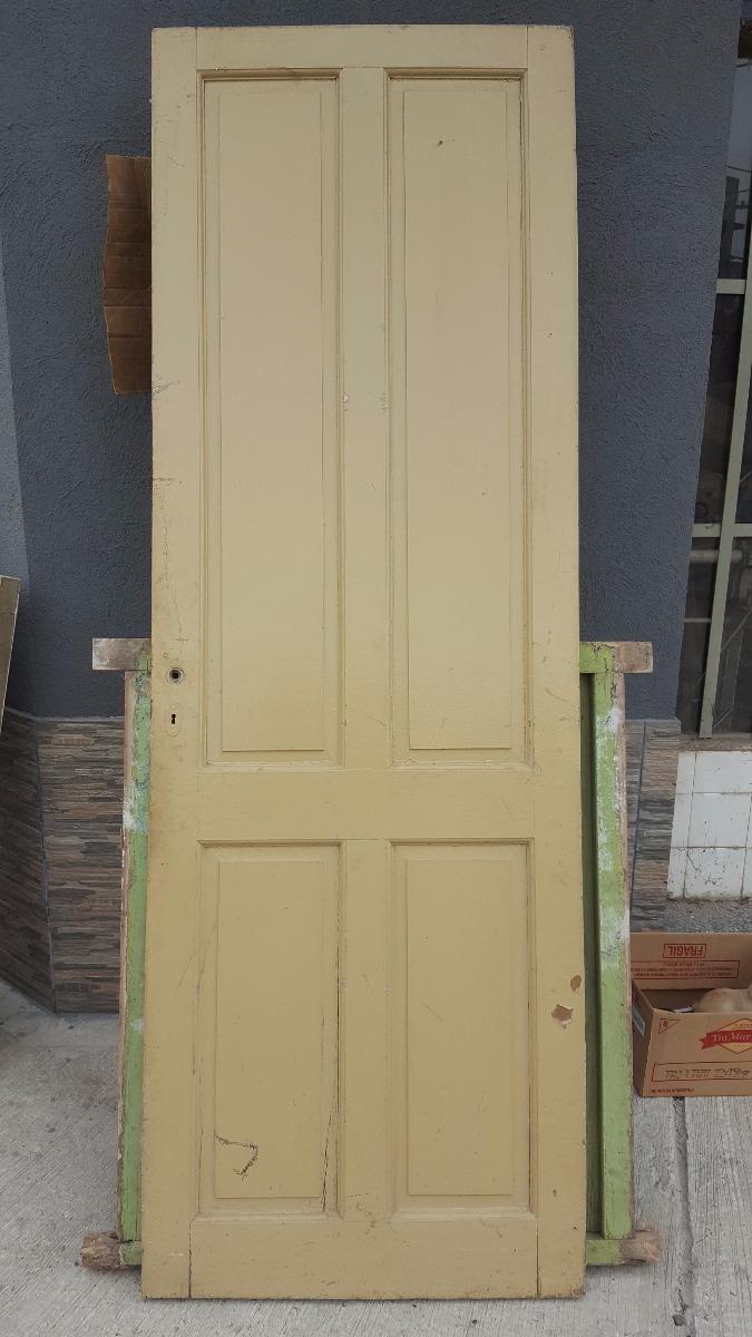 T-antigua Puerta Tablero De Madera Sin Marco De 74,5cm Ancho ...