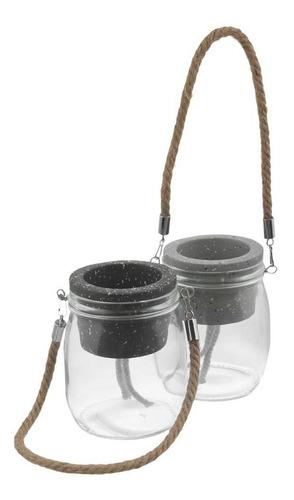 t-arrazzo vaso autoirrigável cinza/natural