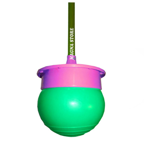 t-ball palo saltarin c/ media esfera base original turby toy