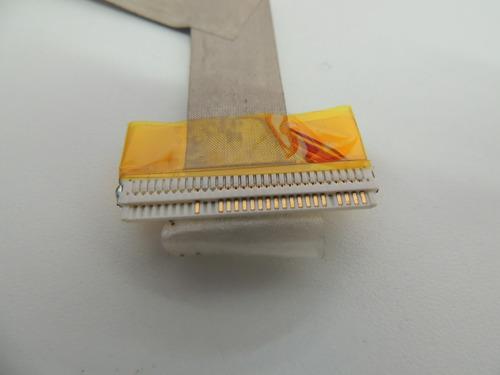 t cabo flat led notebook cce nvc c5h6f usado @18