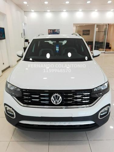 t cross highline volkswagen 2020 full precio 0km automatica