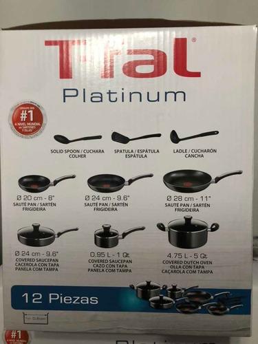 t-fal platinum 12 piezas