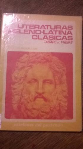 t. j. freire. literatura heleno-latina clásica