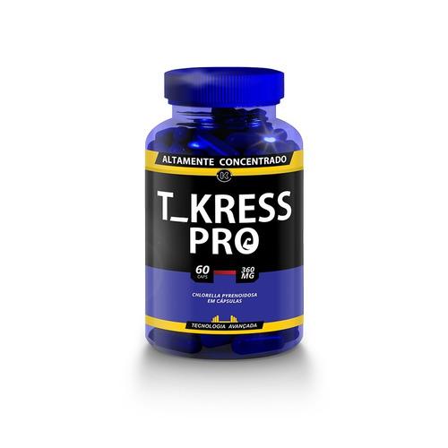 t kress pro original 2 frascos 60 caps (120 caps) tkresspro