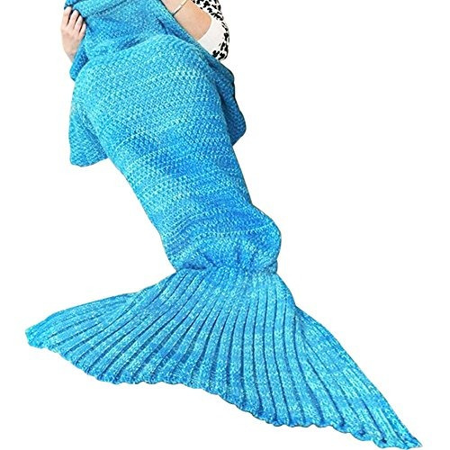 t-miss 71 pulgadas x 35,5 pulgadas cola de la sirena manta