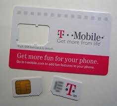 t-mobile para sim card