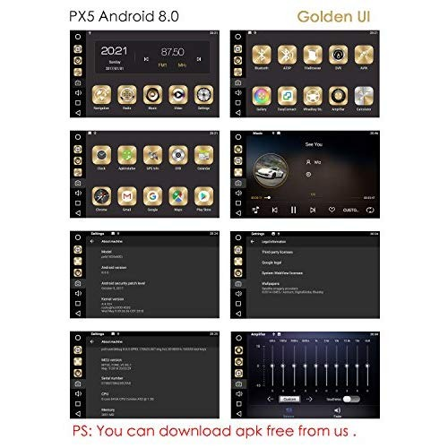 T-one Px5 Car Radio Cpu Junta, Android 8 0, Octa-core, 4