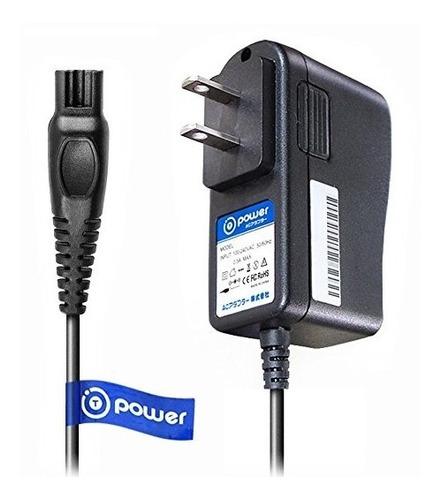 t-power ac dc adpater cargador rápido ((5 pies de largo por