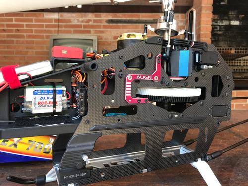 T-rex 700 Pro Dfc + Ikon Flybarless