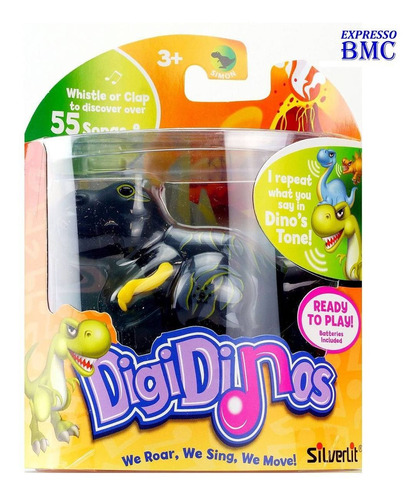 t-rex terry digidinos robô dinossauro silverlit dtc