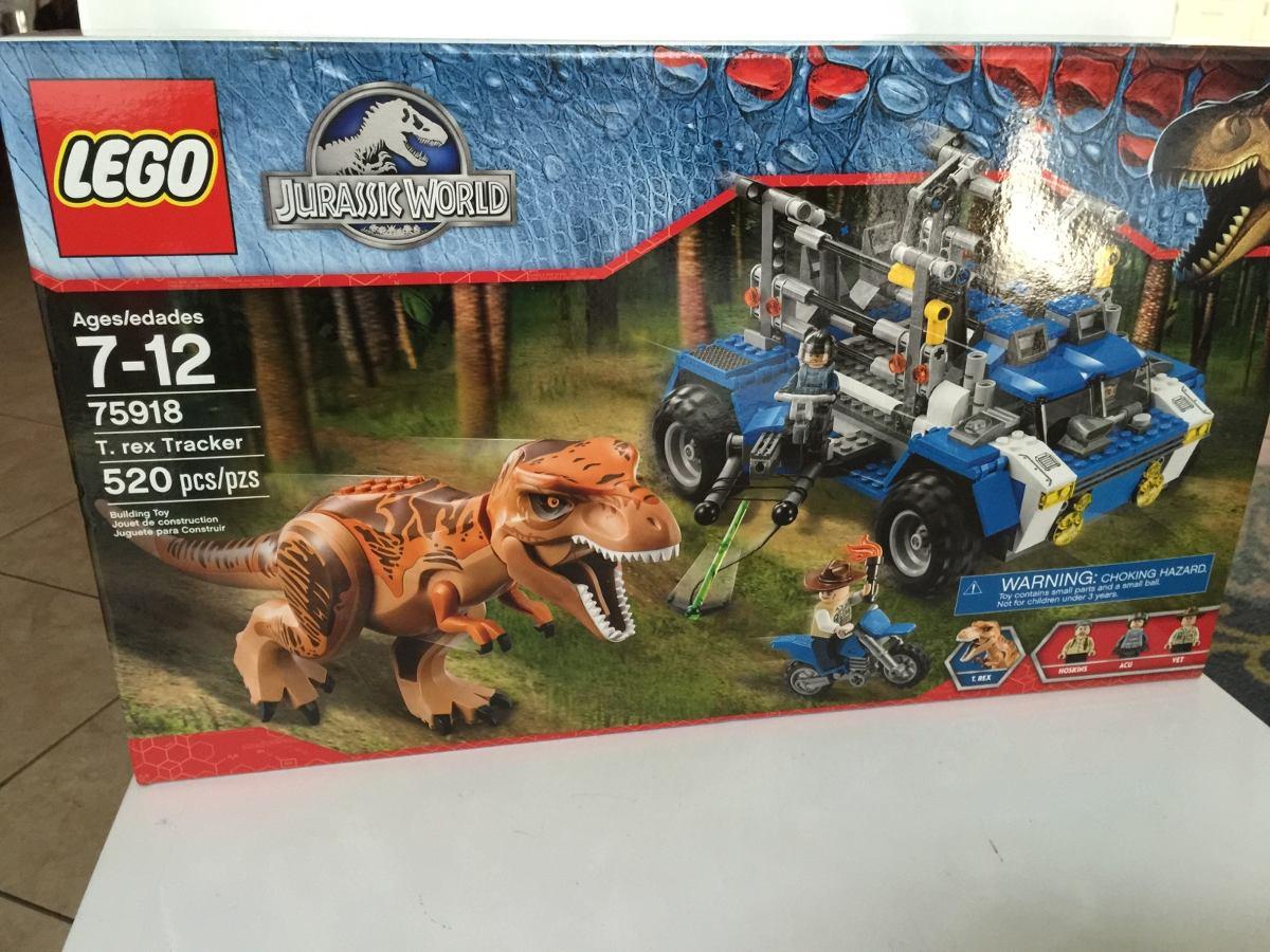 T Rex Tracker Lego Jurassic Park 75918 520piezas - $ 2,817