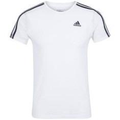 t-shirt adidas branca original e barata + caneca quero bis