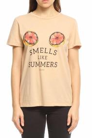 20f29b782 Camiseta Colcci - Calçados, Roupas e Bolsas Rosa claro no Mercado ...