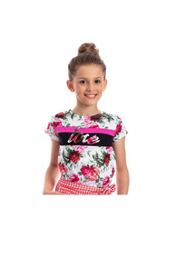cfb501cd9936d Blusa Aplique Flor - Camisas com o Melhores Preços no Mercado Livre ...
