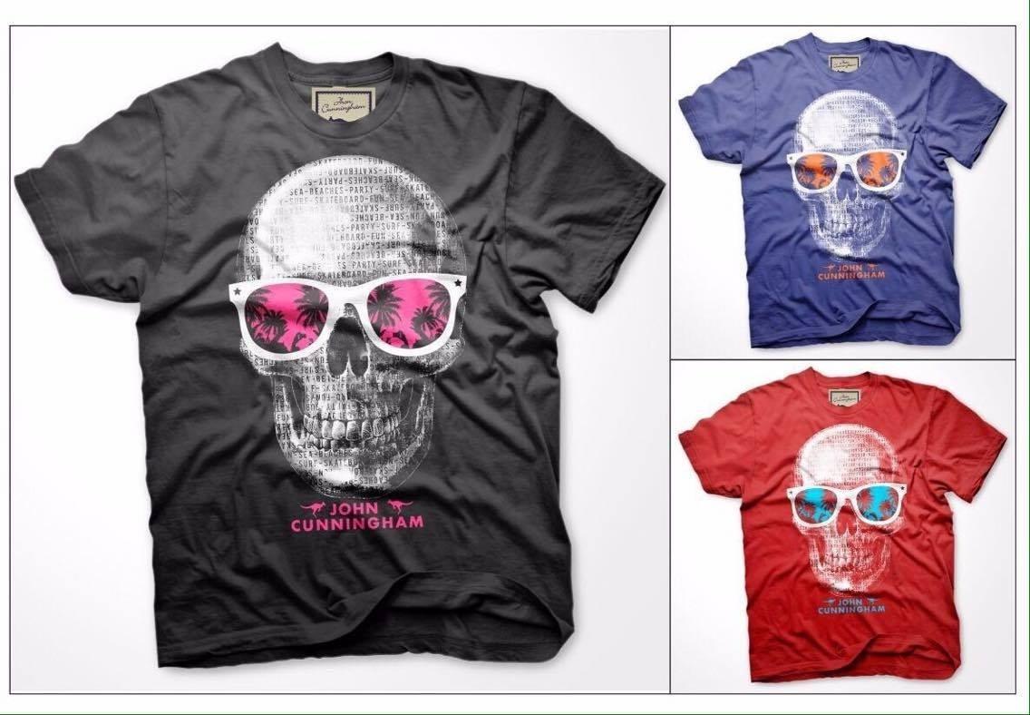 t-shirt masculina john cunningham. Carregando zoom. 5840d2c6b18