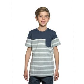 9f439d44d9 T-shirt Niño A Rayas Gris Legacy Tnl-2 - Tienda Chaia