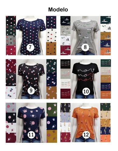 t-shirts blusas feminina roupas atacado revenda camisetas
