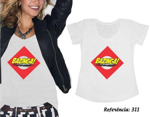 t shirts femininas keep calm e deixa de recalque - bazinga
