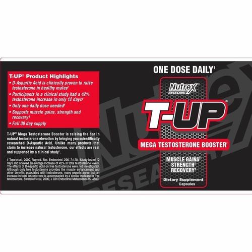 t-up mejor que anabol 5 nutrex testosterona testo nuevo